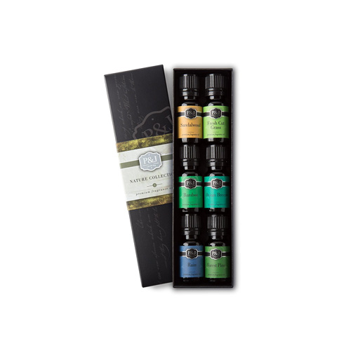 Nature scented aromatherapy oils