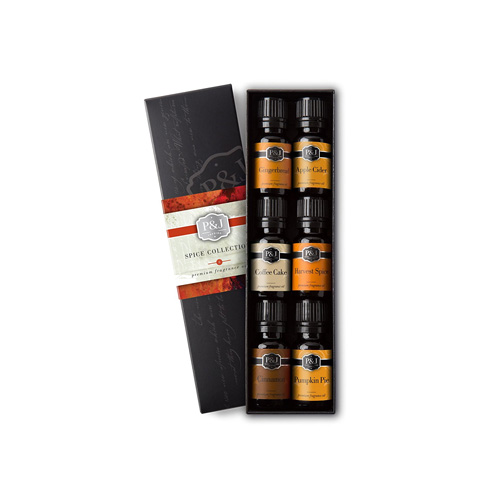 Spice scented aromatherapy oils