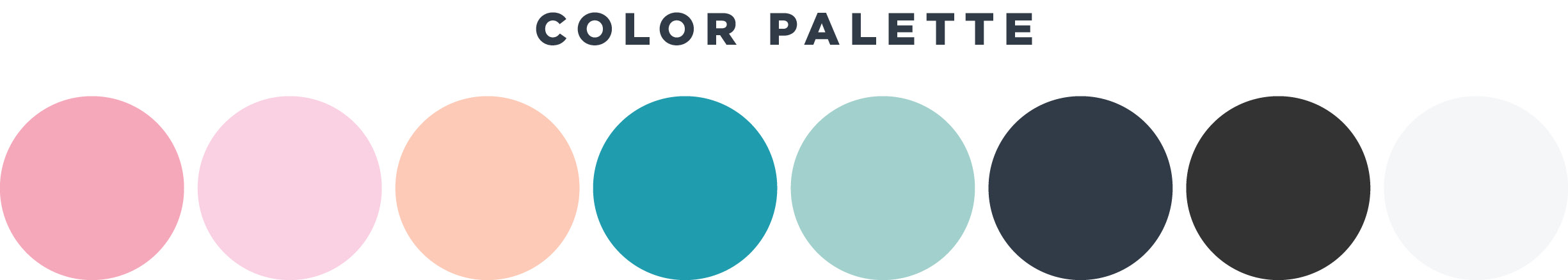 Proof & Parchment branding color palette