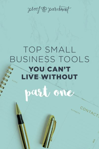 Top Small Business Tools You Can't Live Without Part One Header
