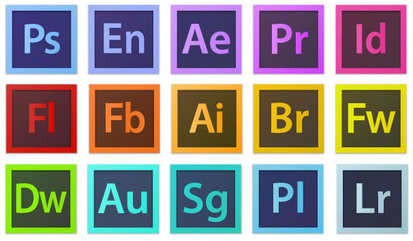 Top Small Business Tools You Can't Live Without Part Two: Adobe Creative Suite Software icons