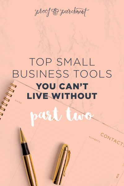Top Small Business Tools You Can't Live Without Part Two