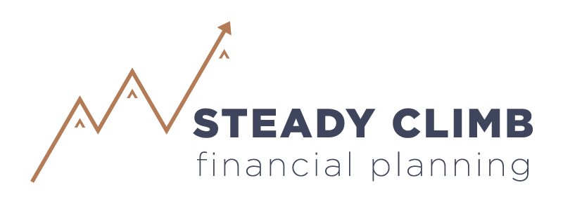 Joyful Week at Proof & Parchment no. 7: Steady Climb Financial Planning Logo Design