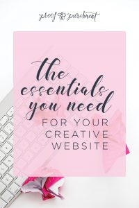 The Essentials You Need For Your Creative Website as an Entrepreneur