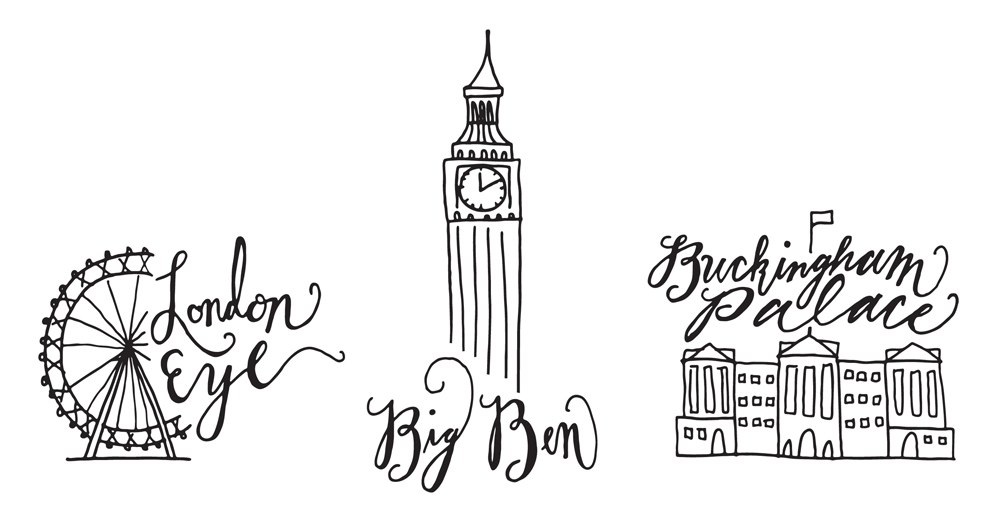Joyful Week at Proof & Parchment no. 10: The royal wedding and London landmarks