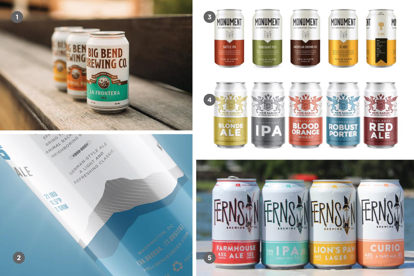 Joyful Week at Proof & Parchment no. 13: Craft Beer Branding