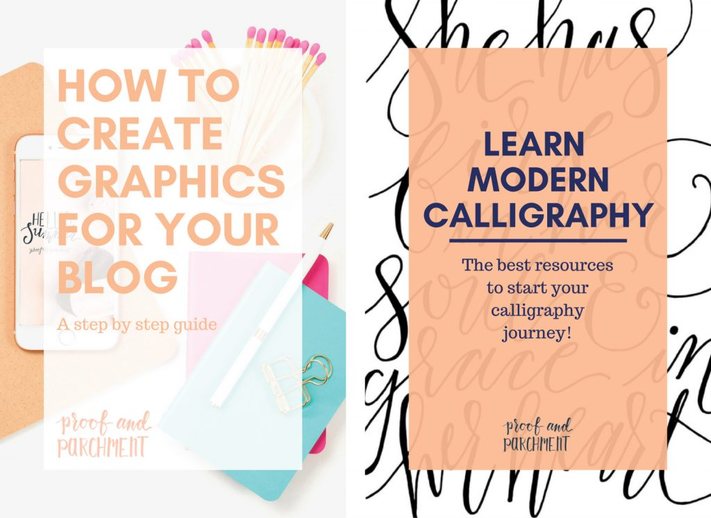Create Eye Catching Graphics for Your Blog: Graphic examples from Canva