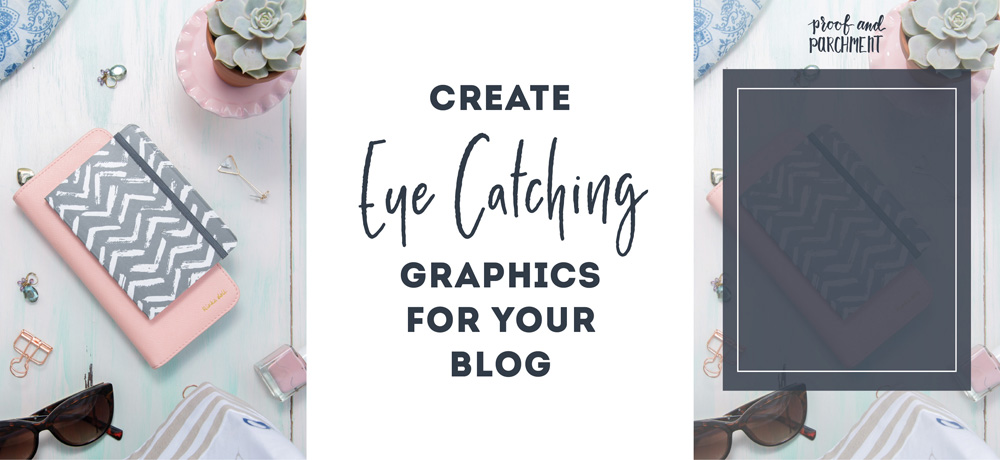 Create Eye Catching Graphics for your blog: Graphic broken apart