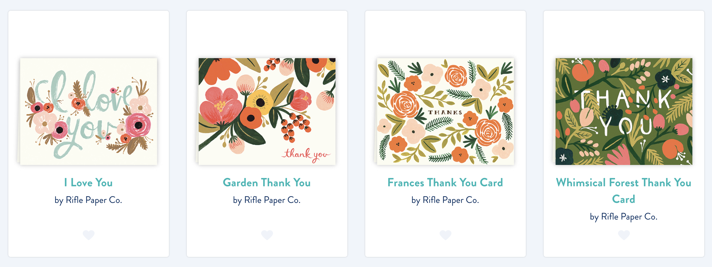 Joyful Week at Proof & Parchment no. 12: Postable Rifle Paper Co.