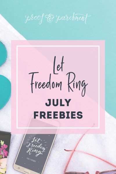 July's Summer Holiday Freebies