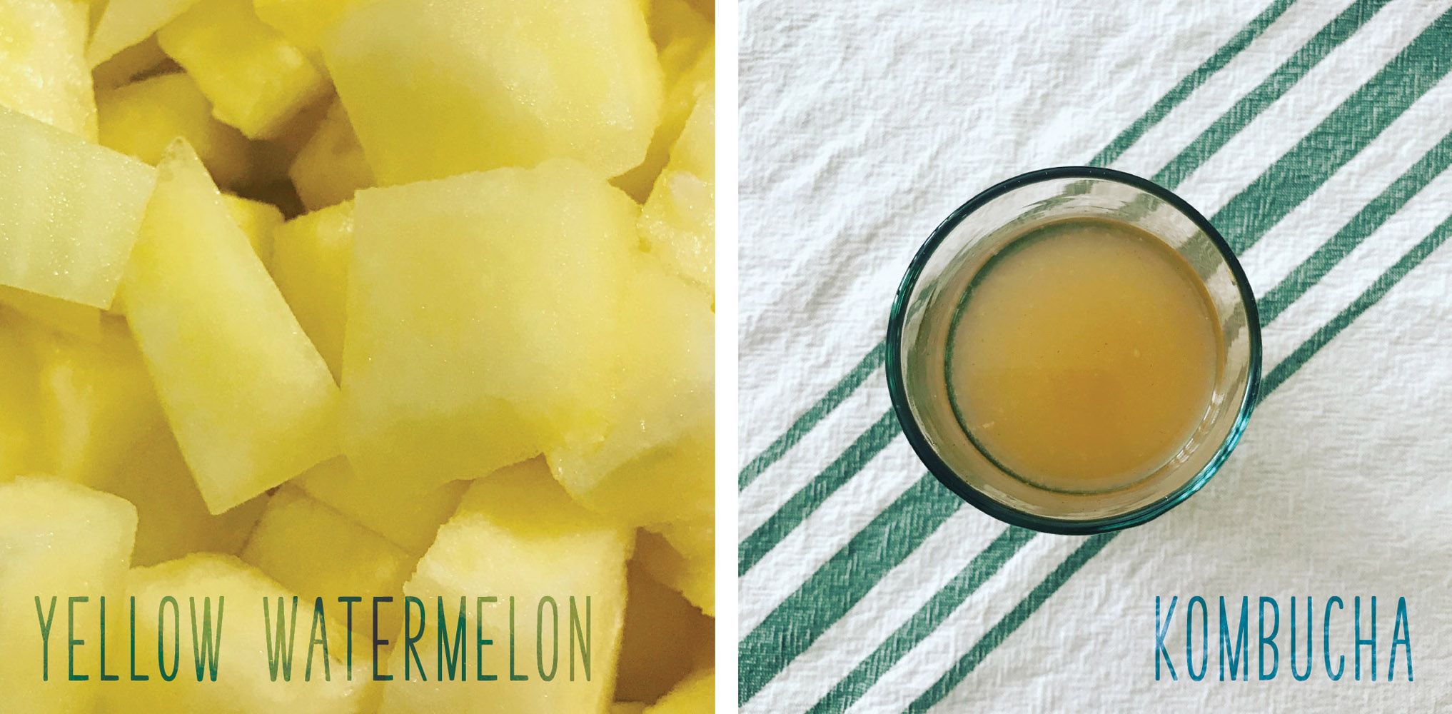 Joyful Week at Proof & Parchment no. 17: Yellow Watermelon Kombucha