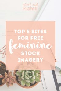 Top 5 Sites for Free Feminine Stock Imagery