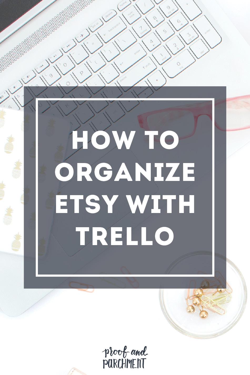 How to Organize Etsy with Trello Header