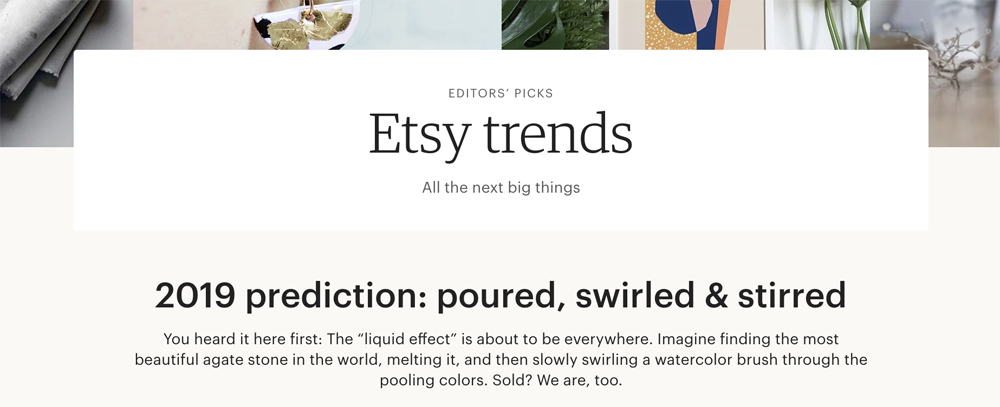Holiday Season Prep: Research Etsy trends