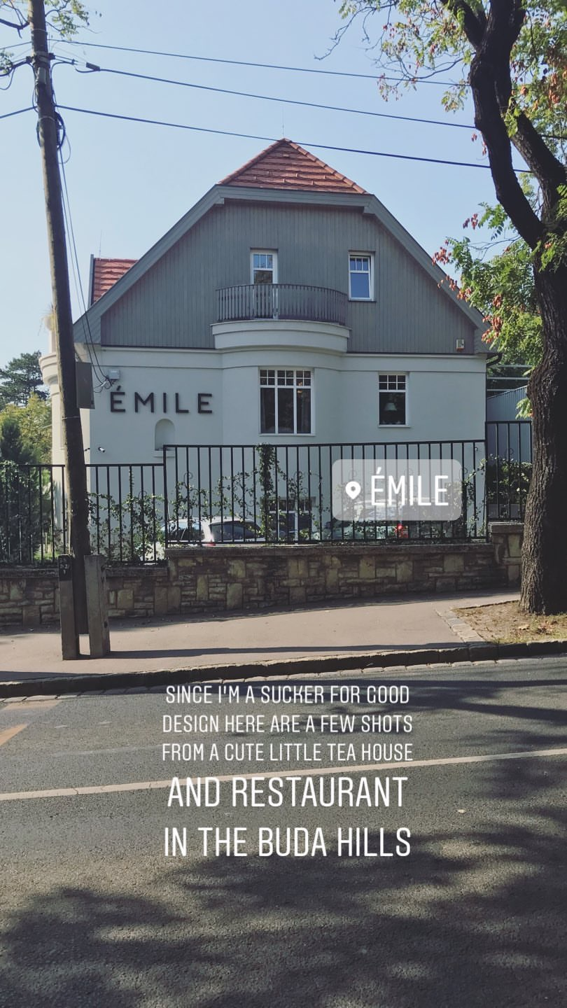 Joyful Week at Proof & Parchment no. 21, Emile: Teahouse and Restaurant