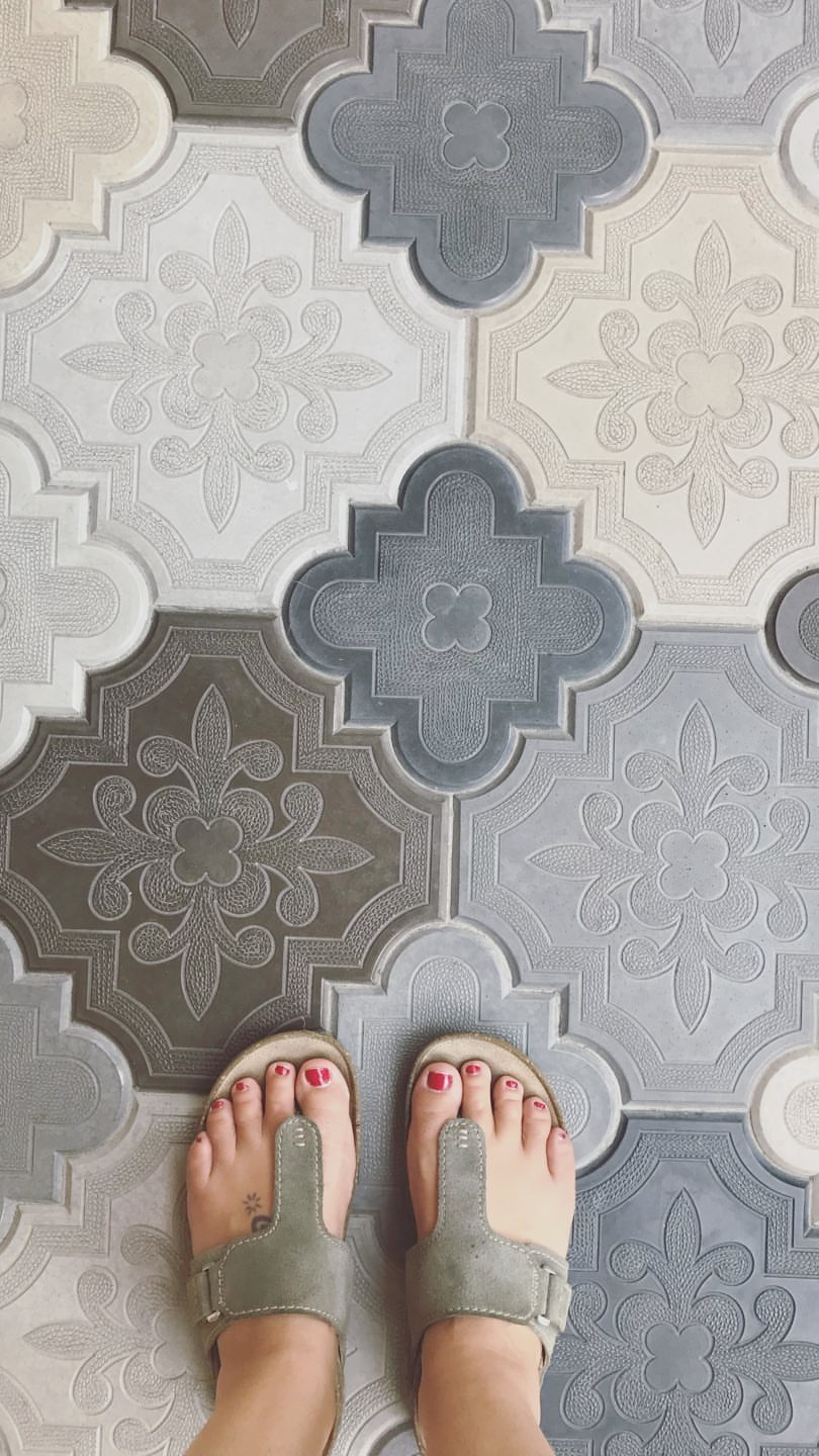 Joyful Week at Proof & Parchment no. 21, Emile: Floor tile design