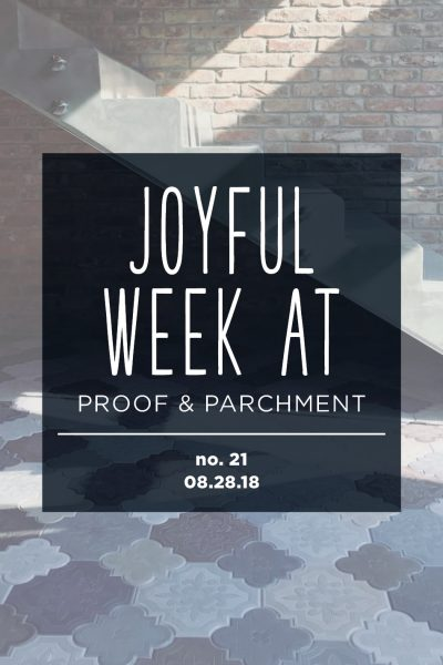 Joyful Week at Proof & Parchment no. 21: Coffee shop designs in Budapest and Salzburg