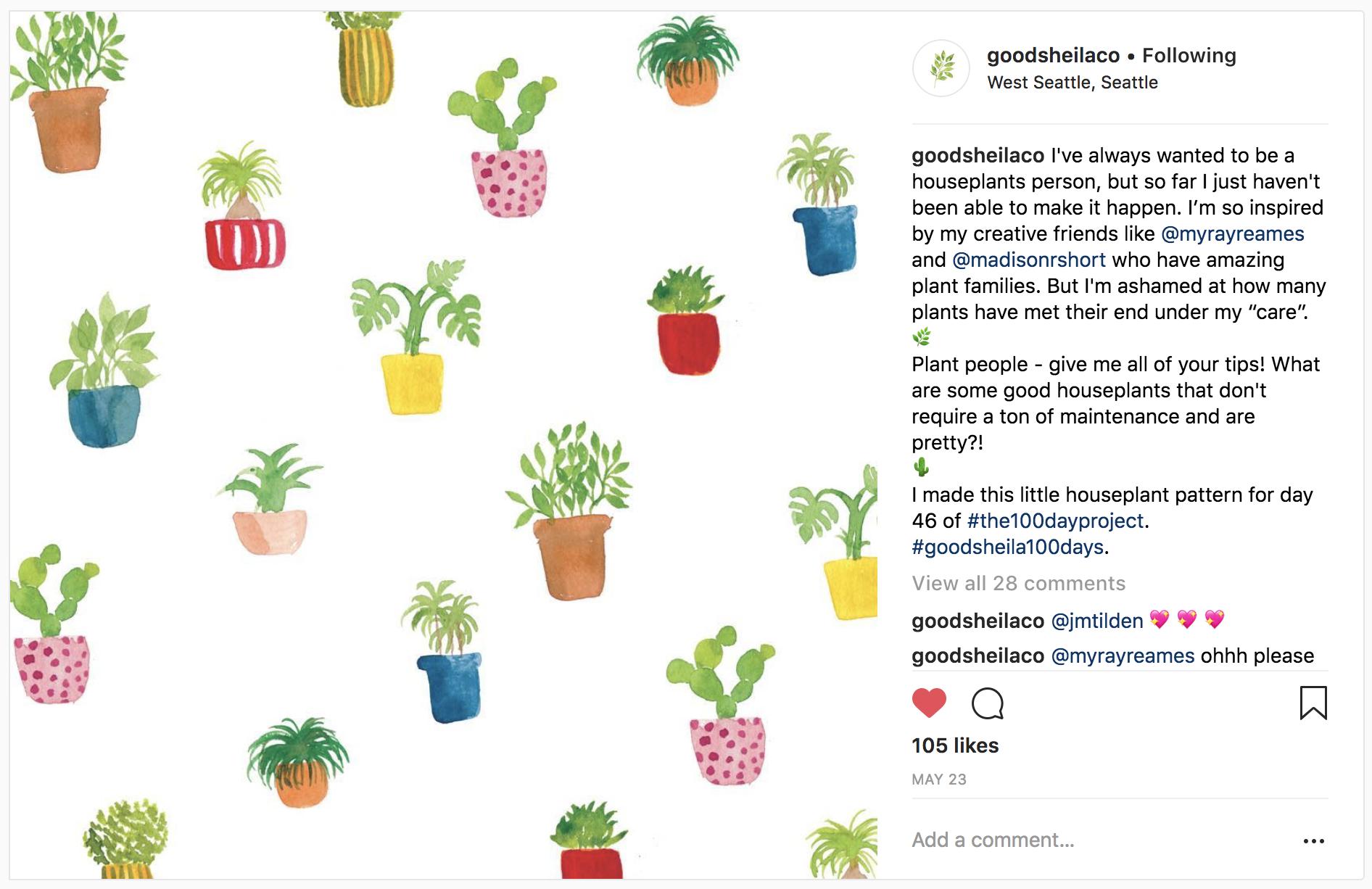 10 Watercolor Artist Inspiration Accounts to Follow: goodsheilaco