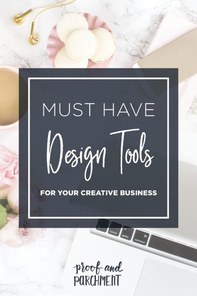 Must Have Design Tools For Your Creative Business