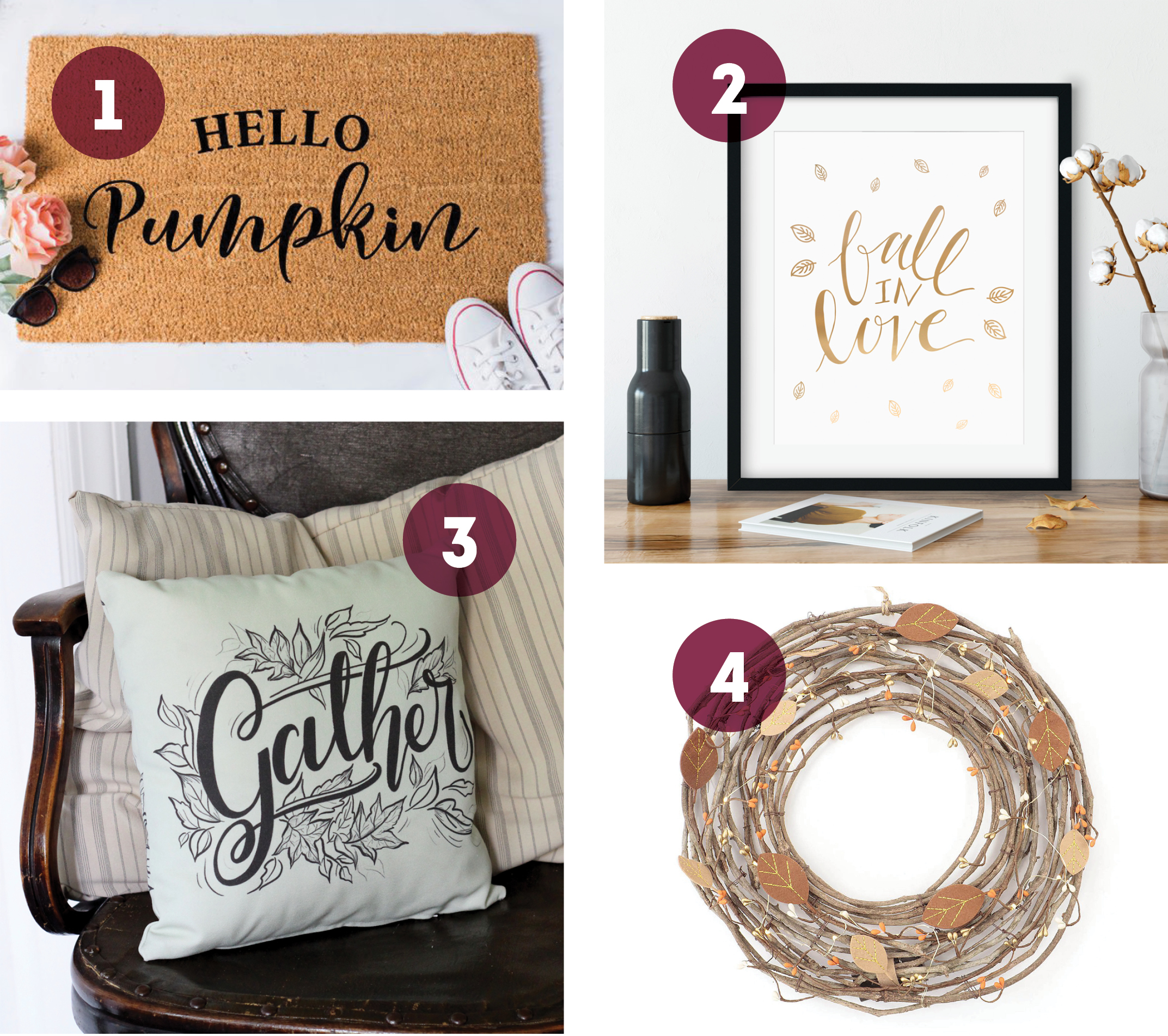 Roundup of Fall Decor & Gifts: Home Decor