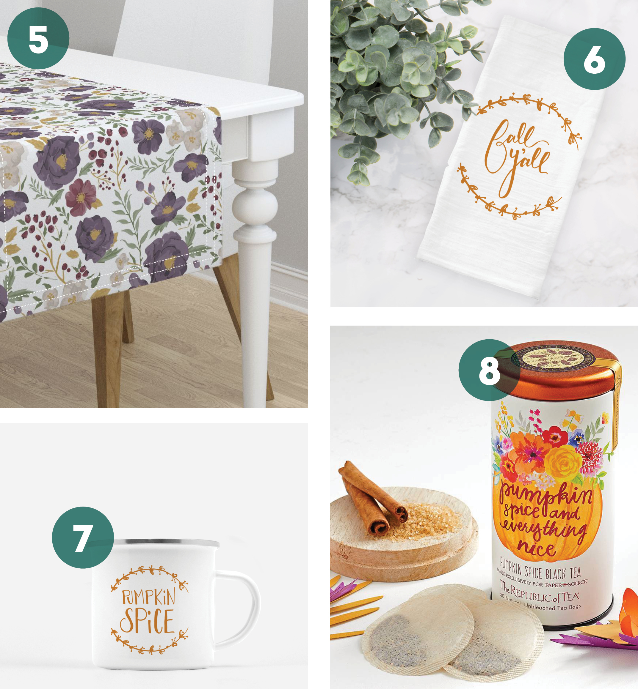 Roundup of Fall Decor & Gifts: Kitchen