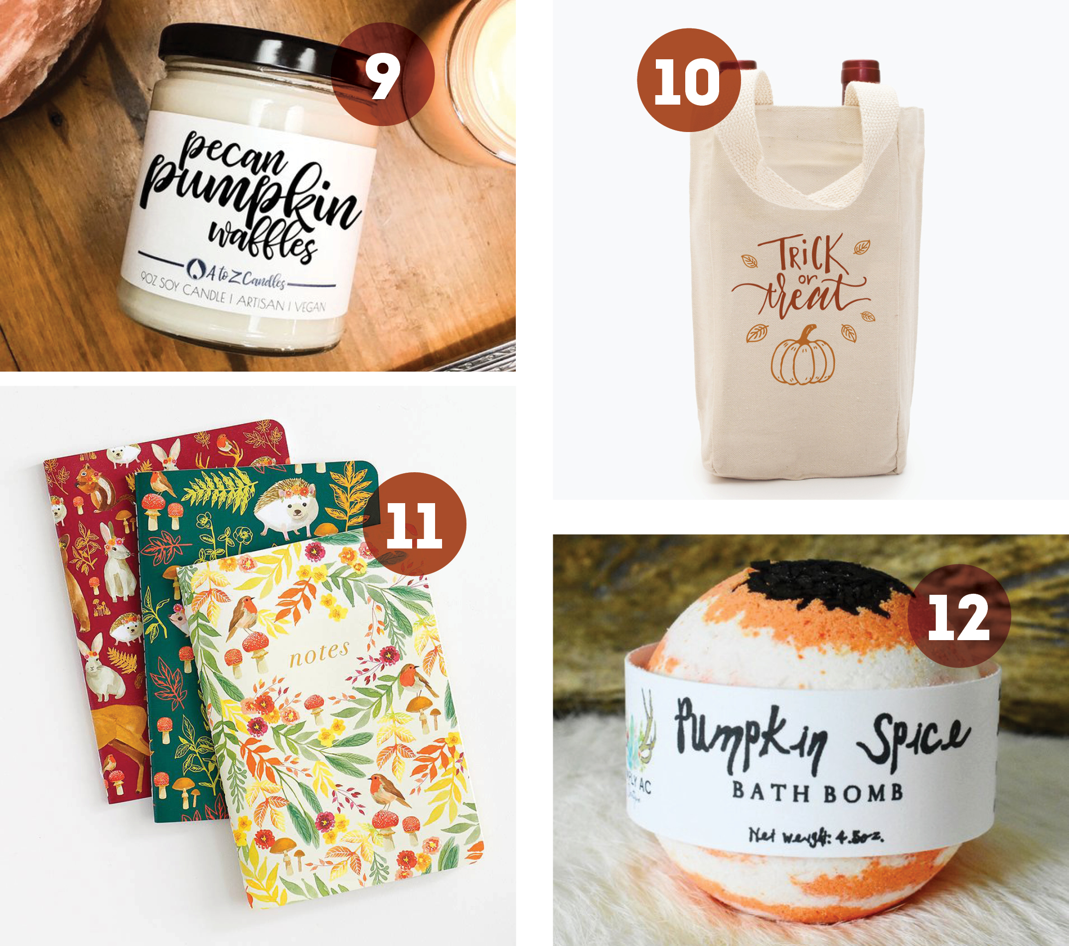 Roundup of Fall Decor & Gifts: Pampering