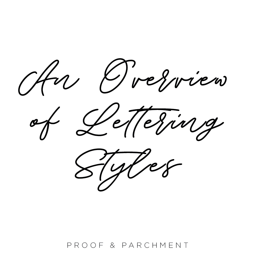An Overview and Comparison of Lettering Styles: Handwritten Fonts, saturday champagne