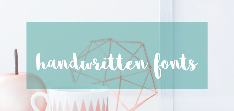 An Overview and Comparison of Lettering Styles: Handwritten Fonts