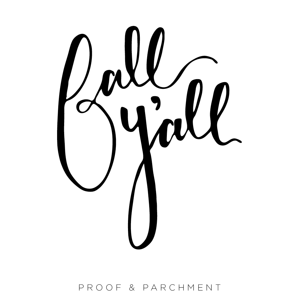 An Overview and Comparison of Lettering Styles: Modern Calligraphy, fall y'all