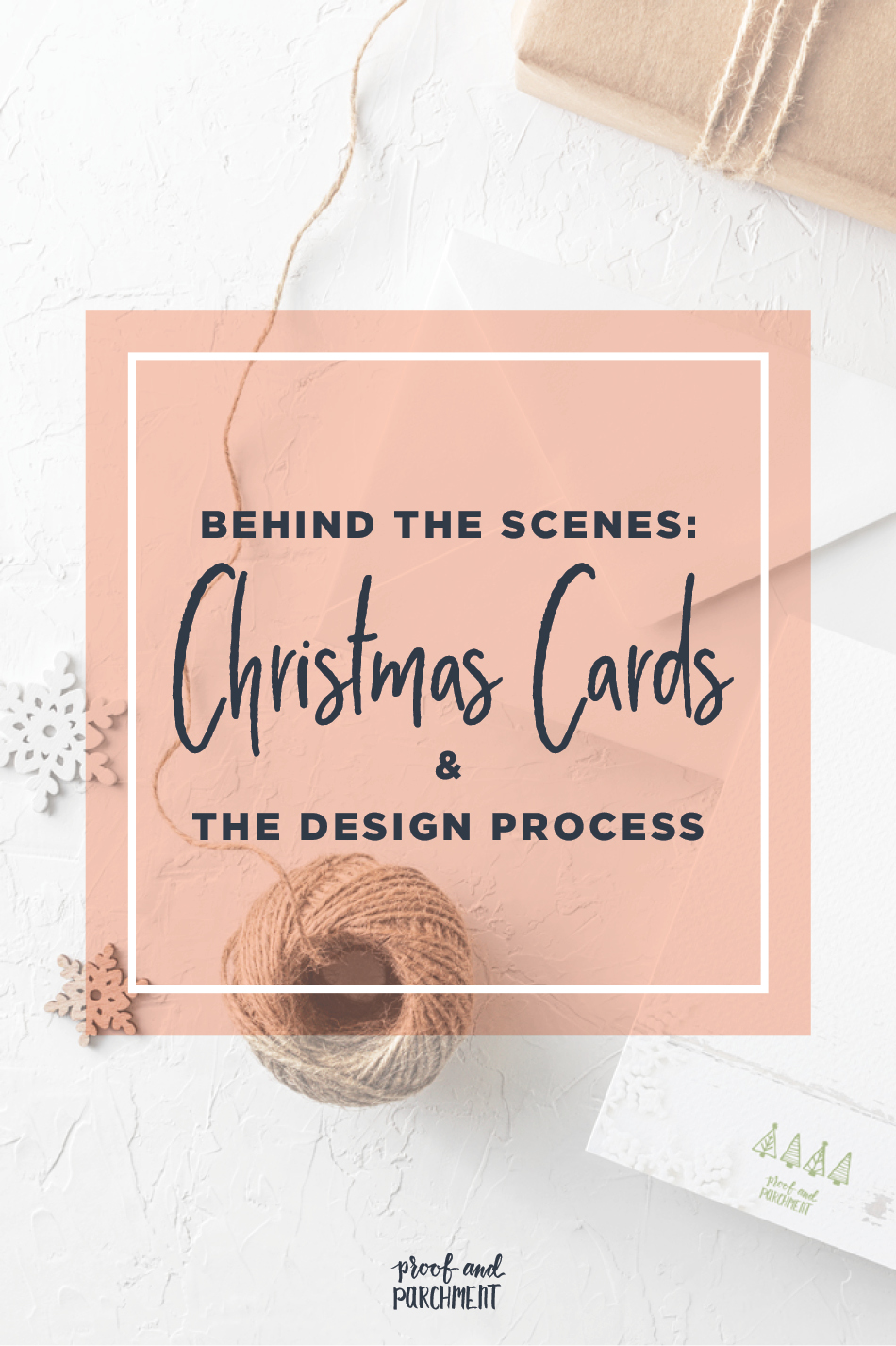 Behind the Designs of Christmas Cards