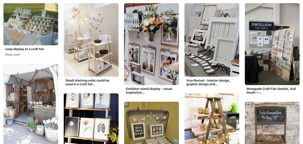 How to Be Successful at Your First Craft Fair: Pinterest Inspo