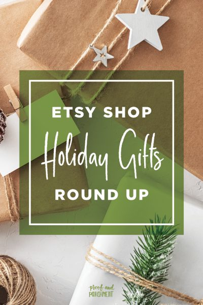 Etsy Shop Holiday Gifts Round Up