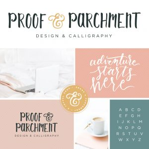 Proof & Parchment new branding