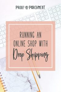 Running an Online Shop With Drop Shipping