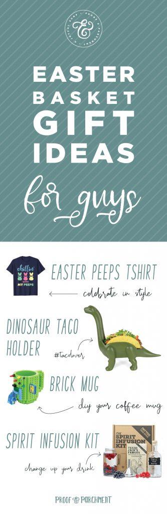 Easter Basket Gift Ideas for Guys
