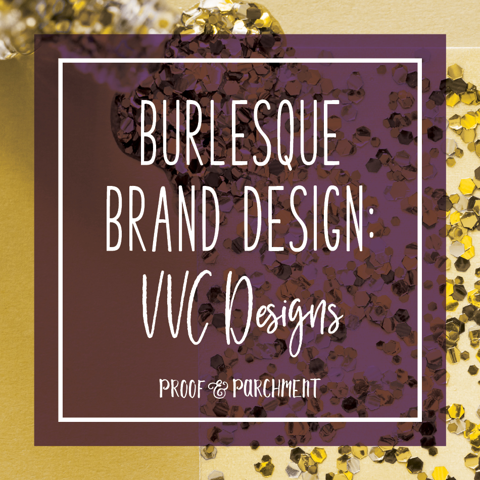 Burlesque Brand Design: VVC Designs
