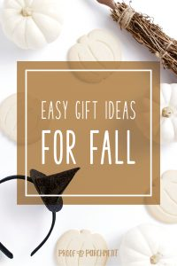 Easy Gift Ideas For Fall