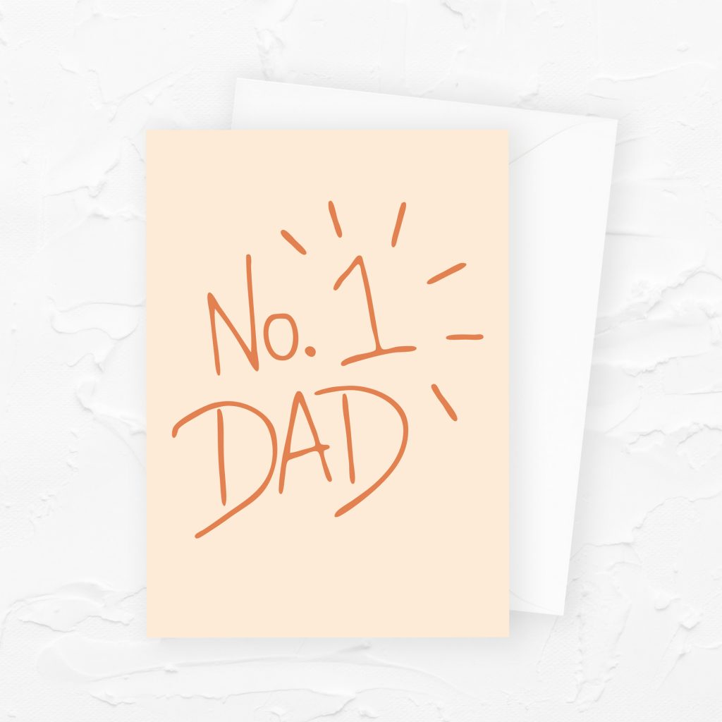 Father's Day Card: No. 1 Dad